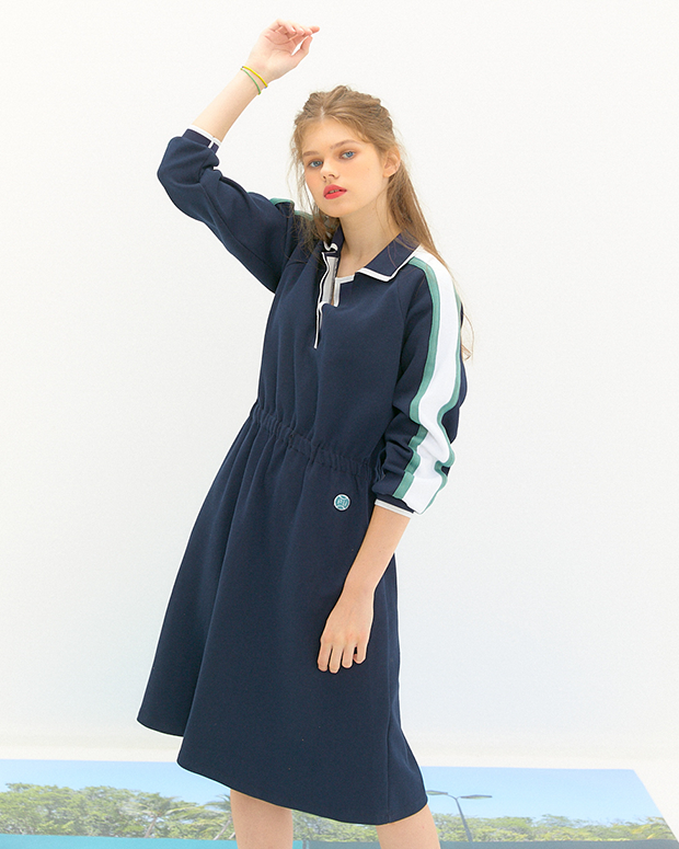 20FW pre fall CLUB dress NAVY