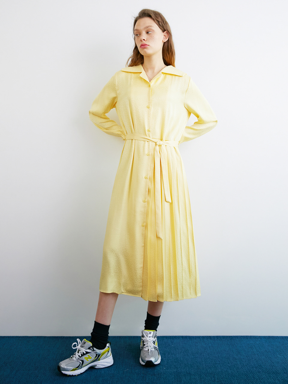 PRIME DRESS_YELLOW